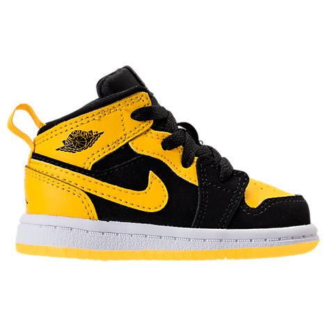 Boys' Toddler Air Jordan 1 Mid Casual Shoes