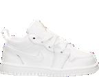 Boys' Toddler Air Jordan Retro 1 Low Basketball Shoes