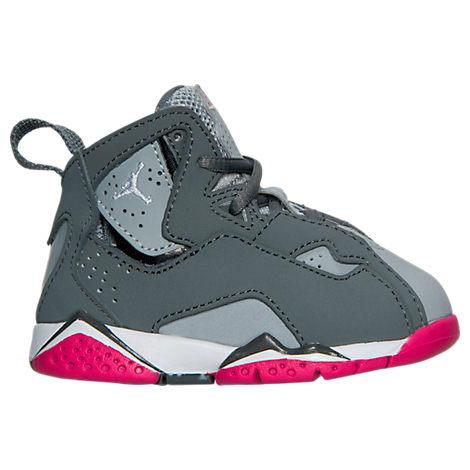 Girls' Toddler Jordan True Flight Basketball Shoes