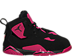 Girls' Toddler Jordan True Flight Basketball Shoes
