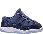 Girls' Toddler Jordan Retro 11 Basketball Shoes