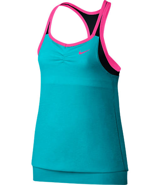 Girls' Nike Dri-FIT Cool 2-in-1 Cami Tank