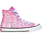 Girls' Preschool Converse Chuck Taylor All Star Hi Flower Pot City Casual Shoes