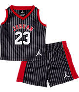 Infant Air Jordan Retro Pinstripe Shorts Set