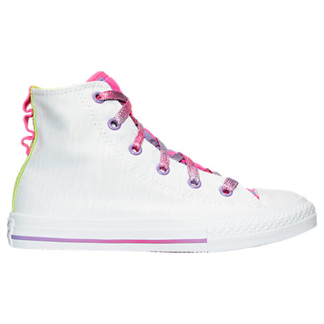 Girls' Preschool Converse Chuck Taylor All Star Loopholes Hi Casual Shoes
