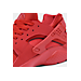 Front view of Boys' Grade School Nike Huarache Run Running Shoes in University Red/University Red