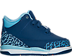 Girls' Toddler Jordan Retro 3 Basketball Shoes