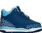 Girls' Toddler Air Jordan Retro 3 Basketball Shoes