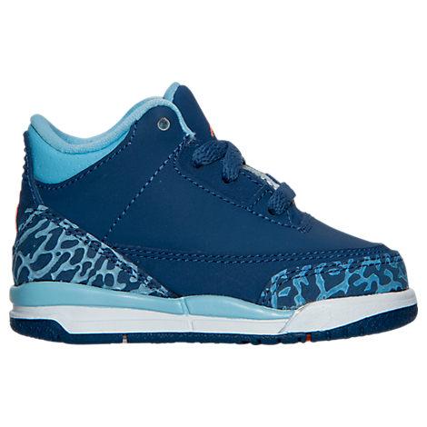 Girls' Toddler Jordan Retro 3 Basketball Shoes