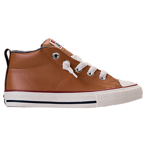 Boys' Preschool Converse Chuck Taylor All-Star Street Leather Casual Shoes