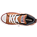 Top view of Boys' Preschool Converse Chuck Taylor All-Star Street Leather Casual Shoes in Khaki