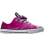 Girls' Preschool Converse Chuck Taylor All Star Velvet Double Tongue Casual Shoes