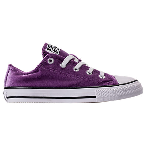 Girls' Preschool Converse Chuck Taylor Ox Velvet Casual Shoes