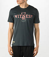 Men's Nike LeBron Lion Teeth Witness T-Shirt