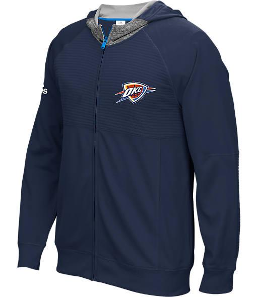 Men's adidas Oklahoma City Thunder NBA Pre-Game Jacket