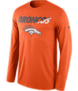 Men's Nike Denver Broncos NFL Legend Staff Long-Sleeve Shirt