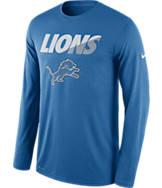 Men's Nike Detroit Lions NFL Legend Staff Long-Sleeve Shirt