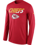 Men's Nike Kansas City Chiefs NFL Legend Staff Long-Sleeve Shirt