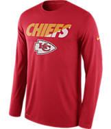 Men's Nike Kansas City Chiefs NFL Legend Staff Long-Sleeve Shirt