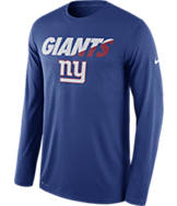 Men's Nike New York Giants NFL Legend Staff Long-Sleeve Shirt