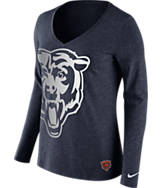 Women's Nike Chicago Bears NFL Wrapped Long-Sleeve Shirt