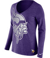 Women's Nike Minnesota Vikings NFL Wrapped Long-Sleeve Shirt