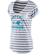 Women's Nike Carolina Panthers NFL Pocket T-Shirt