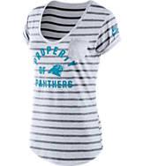 Women's Nike Carolina Panthers NFL Pocket T-Shirt