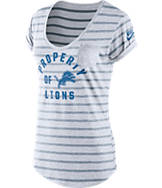 Women's Nike Detroit Lions NFL Pocket T-Shirt