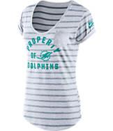 Women's Nike Miami Dolphins NFL Pocket T-Shirt