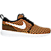 Right view of Men's Nike Roshe One NM Flyknit Casual Shoes in Black/White/Total Orange/Volt