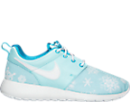 Girls' Grade School Nike Roshe One Print Casual Shoes