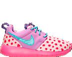 Girls' Grade School Nike Roshe One Print Casual Shoes