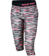 Girls' Nike Pro Graphic Capris