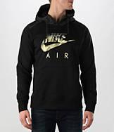 Men's Nike AW77 Fleece Fabric Mix Hoodie