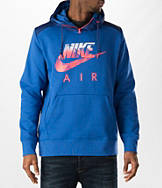 Men's Nike AW77 Fleece Fabric Mix Hoodie