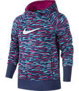 Girls' Nike KO 3.0 Allover Print Pullover Hoodie