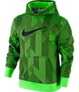 Boys' Nike KO 3.0 Allover Print Pullover Hoodie