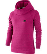 Girls' Nike Tech Fleece Pullover Hoodie