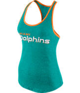 Women's Nike Miami Dolphins NFL Marled Tank