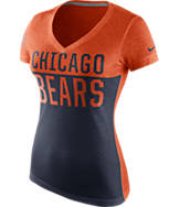 Women's Nike Chicago Bears NFL Home Away T-Shirt