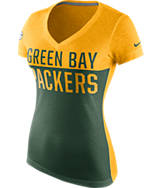 Women's Nike Green Bay Packers NFL Home Away T-Shirt