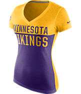 Women's Nike Minnesota Vikings NFL Home Away T-Shirt
