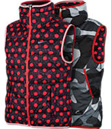 Girls' Nike Alliance Graphic Reversible Vest