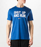 Men's Nike Shut Up and Run T-Shirt