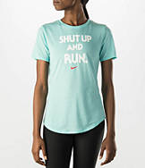 Women's Nike Dri-FIT Blend Shut Up Running T-Shirt