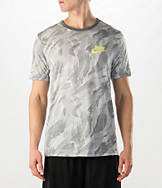 Men's Nike Run Printed Camo Dri-FIT T-Shirt