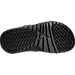 Bottom view of Boys' Grade School Jordan Hydro 13 Retro Slide Sandals in Black/Anthracite