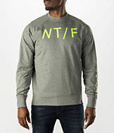 Men's Nike Track & Field Asymmetrical Crewneck Sweatshirt