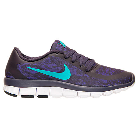 Women\u0026#39;s Nike Free 5.0 V4 Print Running Shoes - 695168 500 | Finish Line